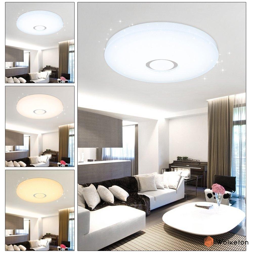 50W LED Sternenhimmel Deckenleuchten Moderne Wohnzimmer ...