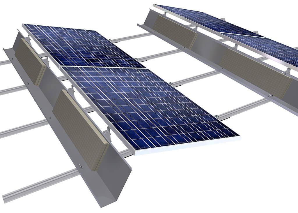 Pv Mounting Structure Solar Panel Bracket Pv Sloar