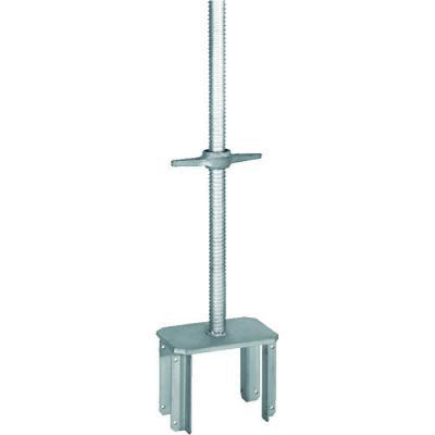 galvanized solid scaffolding screw jack base