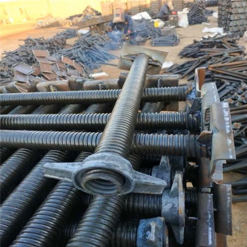 Scaffolding Screw Jack Solid Adjustable Steel Props for Construction Jack Base