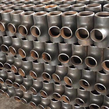 steel 150lb female thread tee pipe fittings