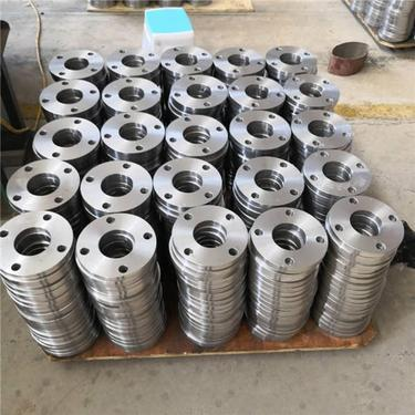 Q235 Q195 Carbon Welding Neck Flange Forged Steel Flange