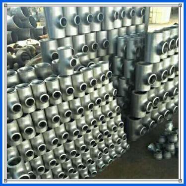 Carbon Steel Metric/BSP Male Thread Tee