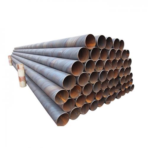 Tianjin Shengteng Brand Black Round Metal Carbon ERW Steel Pipe Price
