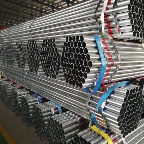 Galvanized Steel Round Pipe For Construction
