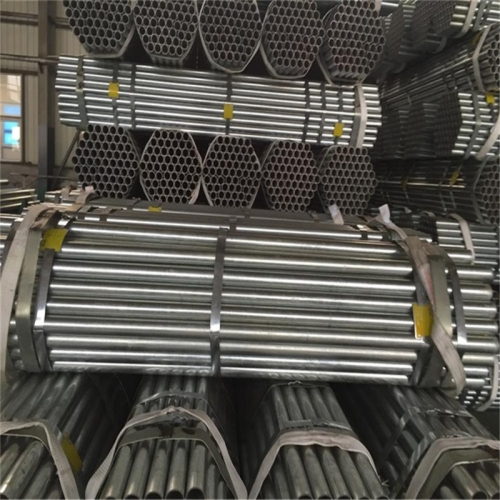 China Shengteng Brand ERW Welded Galvanized Steel Pipes