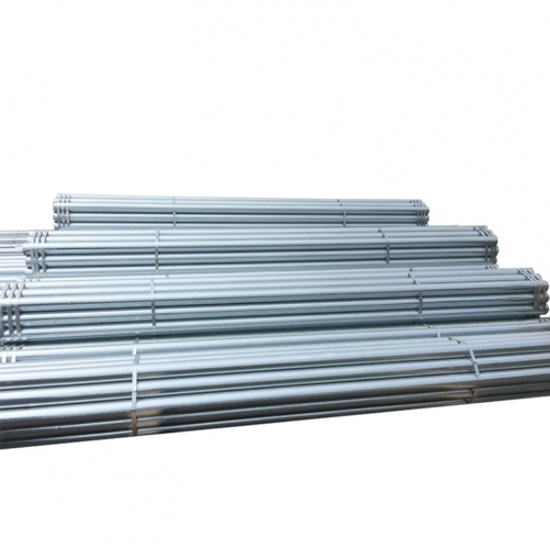 Hot Dip Round Pipe Construction Building Materials Galvanized Steel Pipe