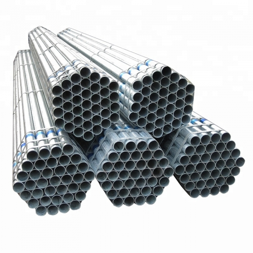 Hot Dip Galvanized Round Steel Pipe For Construction