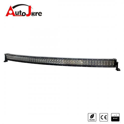 52 inch 288W Curved LED work light Headlight Light Bar