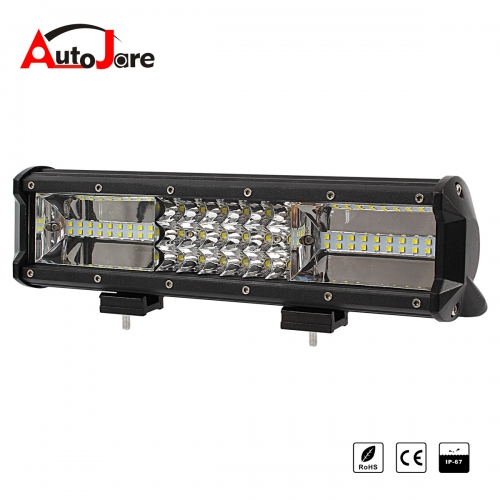 12 inch 108W LED Work light bar spot+flood combo beam work lamp