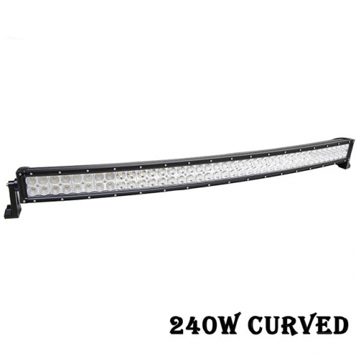 42 inch 240W Curved LED Light Bar IP67 Flood Spot