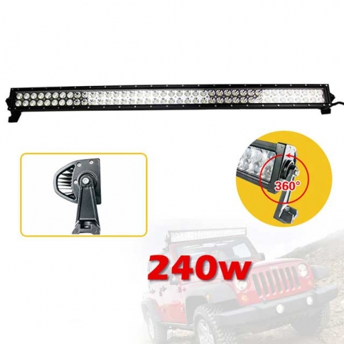 42 inch 240W LED Light Bar IP67 Flood Spot