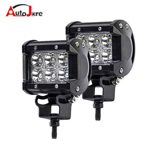 4 inch 18W CREE Spot LED Work Light Bar Offroad 4WD ATV SUV Fog Driving Lamp