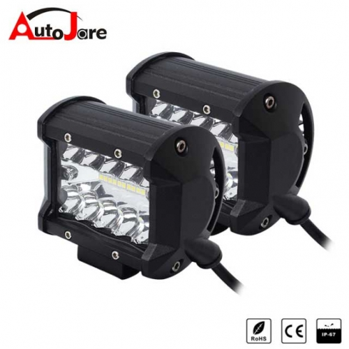 4inch 60W CREE LED WORK LIGHT BAR OFFROAD FOG Driving lamp 12V 24V boat truck
