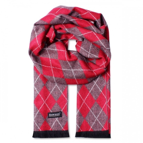 Plaid Red Scarves, 71inch Length Shawl, Best Gift for Christmas