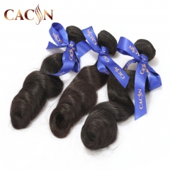 Virgin Brazilian hair loose wave weave 2 bundles, raw virgin hair, free shipping