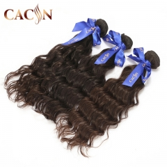 Mink Brazilian virgin hair weave water wave 2 bundles, raw virgin hair, free shipping