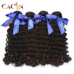 Virgin Brazilian deep curly weave hair 4 bundles, human virgin hair, free shipping