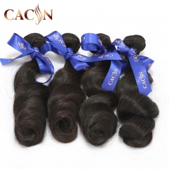 Virgin Brazilian loose wave hair 4 bundles, 100% raw virgin hair, free shipping