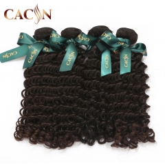 Virgin peruvian deep wave human hair 4 bundles, raw hair weave, free shipping