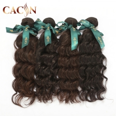 Peruvian virgin human hair weave water wave 4 bundles, raw virgin hair, free shipping
