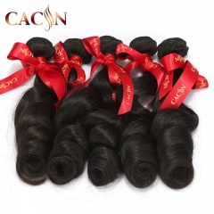 Virgin Malaysian hair loose wave 1 bundle, wet and wavy human hair, free shipping