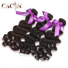 Indian virgin human hair bundles natural wave 2pcs, virgin hair weave, free shipping