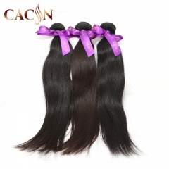 Raw Indian hair straight weave 3 & 4 bundles, 100% virgin hair, free shipping