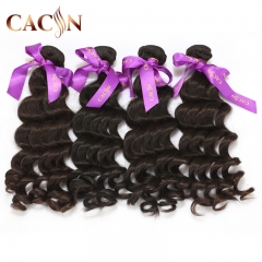 Raw Indian hair natural wave 4 bundles, wholesale virgin hair vendors, free shipping