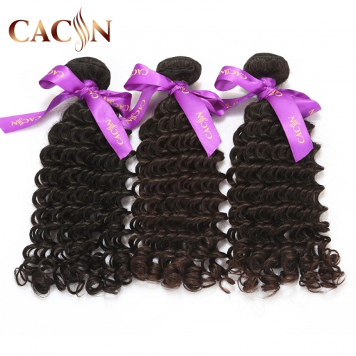 Indian curly hair deep curly 3&4 bundles, raw virgin hair weave, free shipping