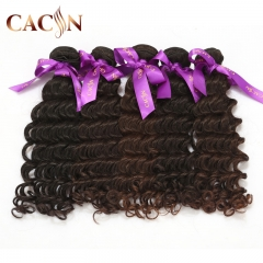 Indian virgin hair weft deep wave 1 bundle, virgin human hair weave, free shipping