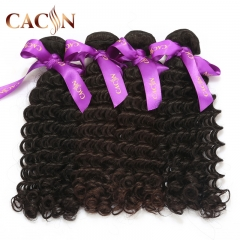Indian virgin hair weave deep curly 4 bundles, curly weave human hair, free shipping