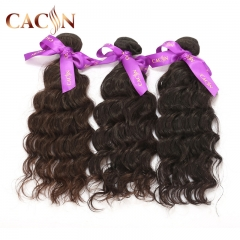 Virgin Indian hair weave water wave 3&4 bundles, unprocessed virgin hair, free shipping