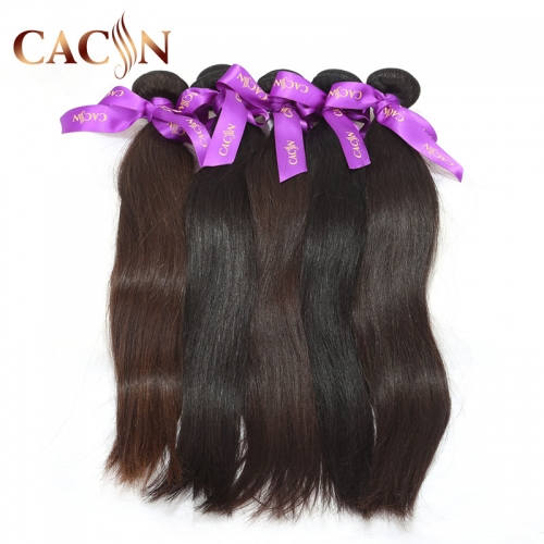 Indian virgin hair straight weave 1 bundles, raw Indian hair wholesale, free shipping