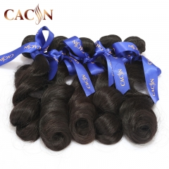 Virgin Brazilian remy hair loose wave 1 bundle, virgin hair human weave, free shipping