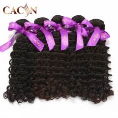 Indian deep curly virgin hair bundles 1pcs, best quality & cheap price human hair bundles, free shipping