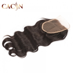 Virgin hair body wave lace closure, Brazilian hair closure, Peruvian hair, Indian hair, and Malaysian hair lace closure