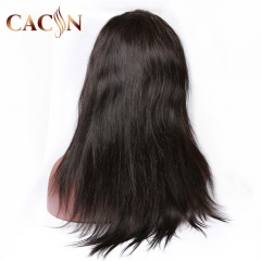 Virgin straight hair lace frontal wig, Brazilian hair, Peruvian hair, Malaysian hair, Indian hair lace front wig, free shipping