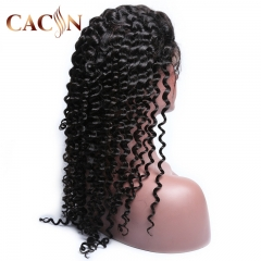 Best virgin hair deep wave 360 lace wig, 360 frontal wig, 360 lace frontal wig human hair, free shipping