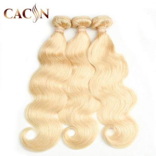 Best blonde bundles, bleached 613 hair 3 bundles Brazilian hair body wave, free shipping.