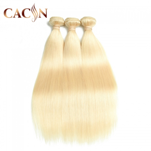 Best bleached 613 blonde hair straight 3 bundles, free shipping