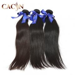 Brazilian straight hair weave bundles 3pcs, 100% raw virgin hair, free shipping