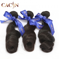 Brazilian loose wave weave 3 bundles hair, 100% unprocessed virgin hair, free shipping