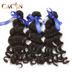 Brazilian human hair natural wave 3 bundles, 100% raw virgin hair, free shipping