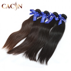 Best Brazilian virgin hair straight 2 bundles, 100% raw virgin hair, free shipping