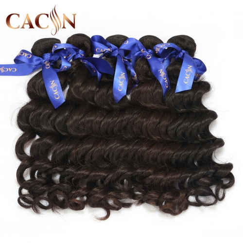 Virgin Brazilian hair loose deep wave 4 bundles, virgin hair weave, free shipping