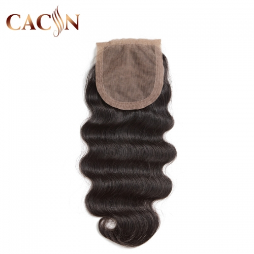 Body wave silk base closure, Brazilian virgin hair closure, Peruvian hair, Indian hair, and Malaysian hair silk closure