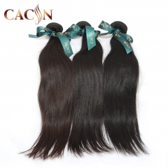 Peruvian straight hair weave 3 & 4 bundles, 100% raw virgin hair, free shipping