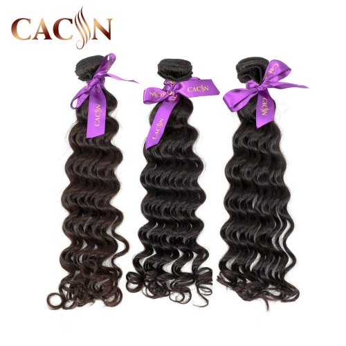Indian raw hair deep wave 3 & 4 bundles deals, raw virgin hair, free shipping