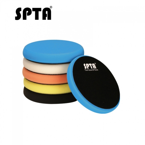 SPTA 5inch 125mm Car polishing pads Foam Buffing Polishing Pads Buffing Pads Car polishing pads For DA /RO Car Polisher